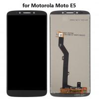 Motorola Moto E5 Display + Digitizer module - Black