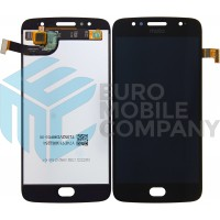 Motorola Moto G5S Display + Digitizer Complete - Black