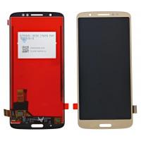 Motorola Moto G6 PLUS LCD + Touchscreen module - GOLD