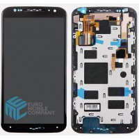 Motorola Moto X2 Display + Digitizer Complete - Black