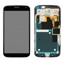 Motorola Moto X  (XT1052)  LCD + Frame Compleet black