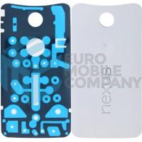 Motorola Nexus 6 Battery Cover - White