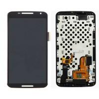 Motorola Nexus 6 (XT1100) Display + Frame - Black
