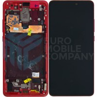 Xiaomi Mi 9T/Mi 9T Pro (OEM) Display Complete With Frame - Red